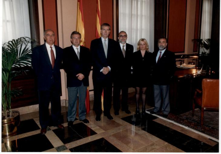 25 años-recepcion presidente-Lanzuela-1998